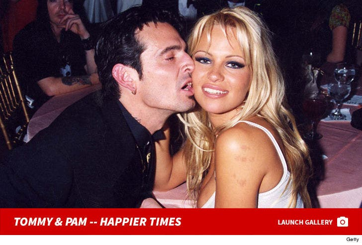 Tommy Lee and Pamela Anderson -- Happier Times