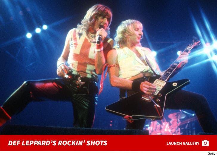 Def Leppard's Rockin' Performance Photos