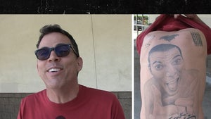 Steve-O Says Zeke Elliott's Self-Tat's Douchey But Hilarious, I Would Know!