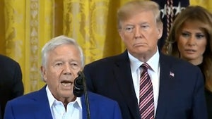 Donald Trump Gushed About 'Winner' Robert Kraft at White House Event