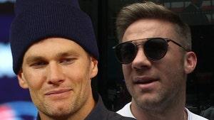 Tom Brady Jokes About Julian Edelman's Arrest