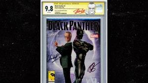 Chadwick Boseman-Signed 'Black Panther' #1 Comic Hits Auction Block
