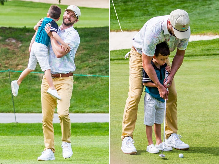 Justin Timberlake -- Miniature Golf With Family