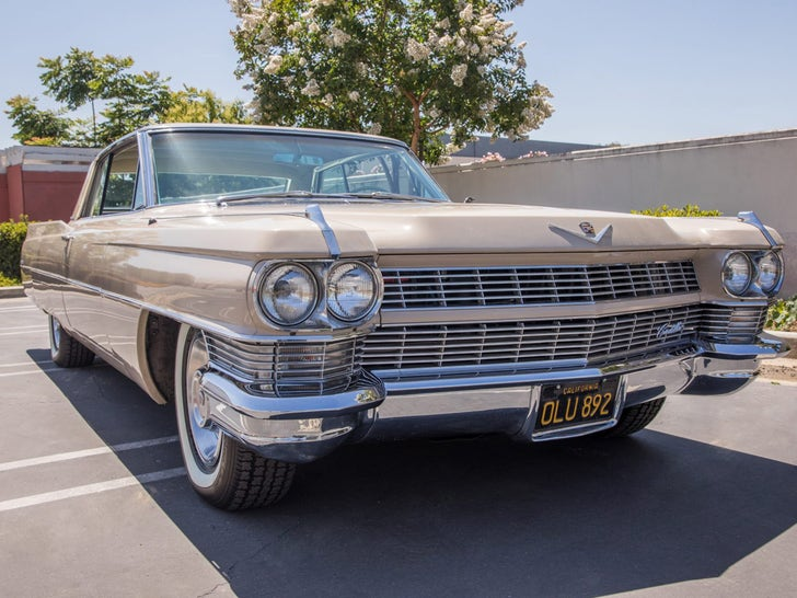 Travis Barker's 1964 Cadillac Coupe DeVille