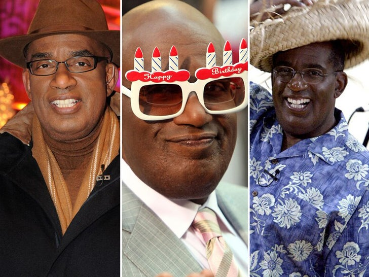 Al Roker -- Through the Years!