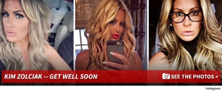 Kim Zolciak -- Get Well Soon