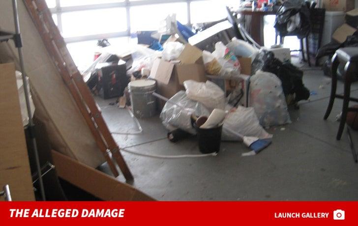 Keyshia Cole -- The Alleged House Damage