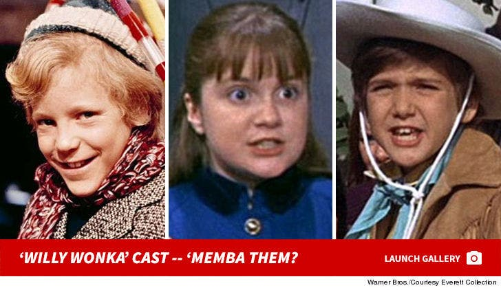 """""""Willy Wonka and the Chocolate Factory"""" Cast: 'Memba Them?"""