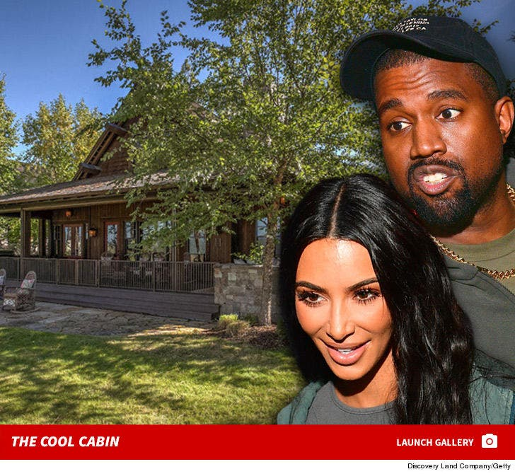 Kim Kardashian and Kanye West's Idaho Cabin