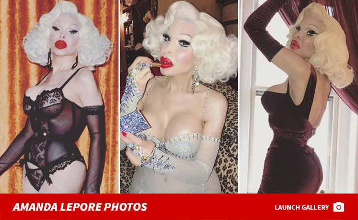 Amanda Lepore Photos