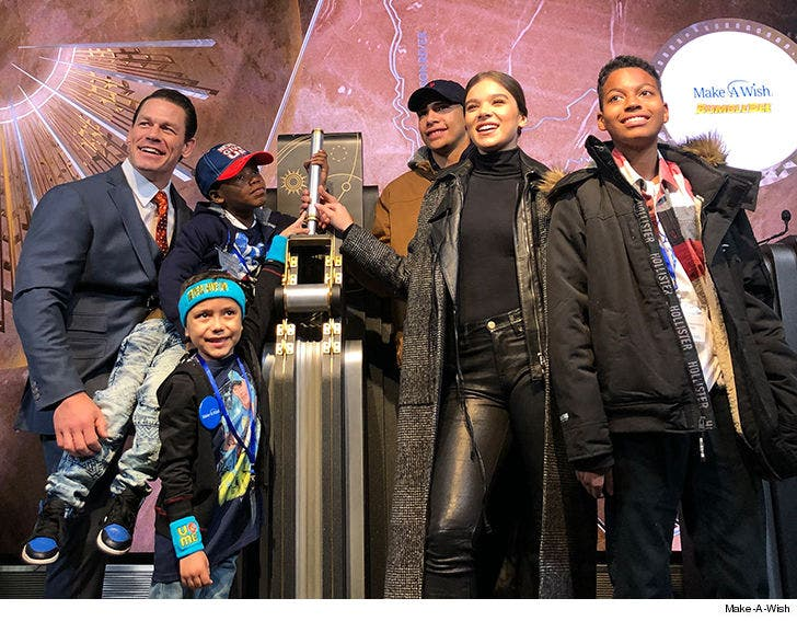 John Cena Takes 21 Kids from Make-A-Wish to Go See 'Bumblebee'