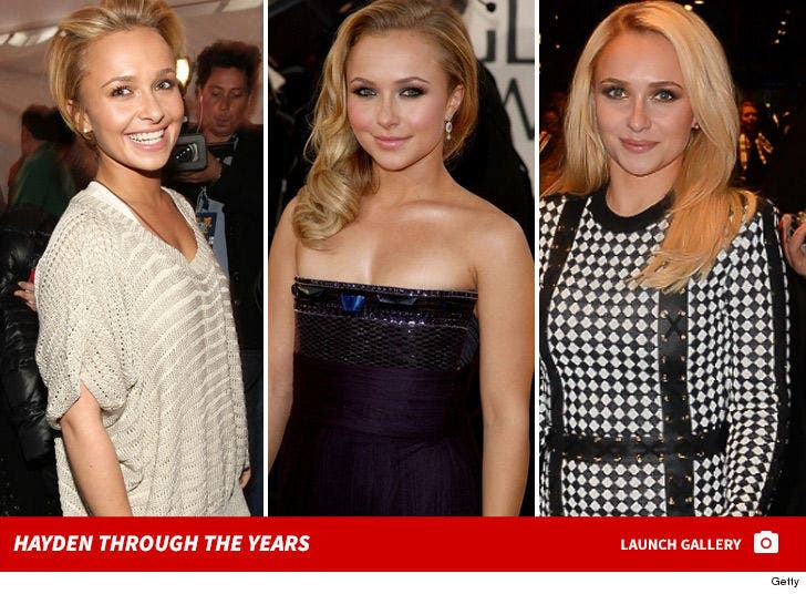 Hayden Panettiere -- Through the Years