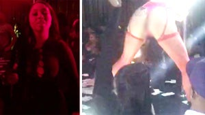 'Basketball Wives' Star -- Girls Night Out ... At The Strip Club!!! (VIDEO)