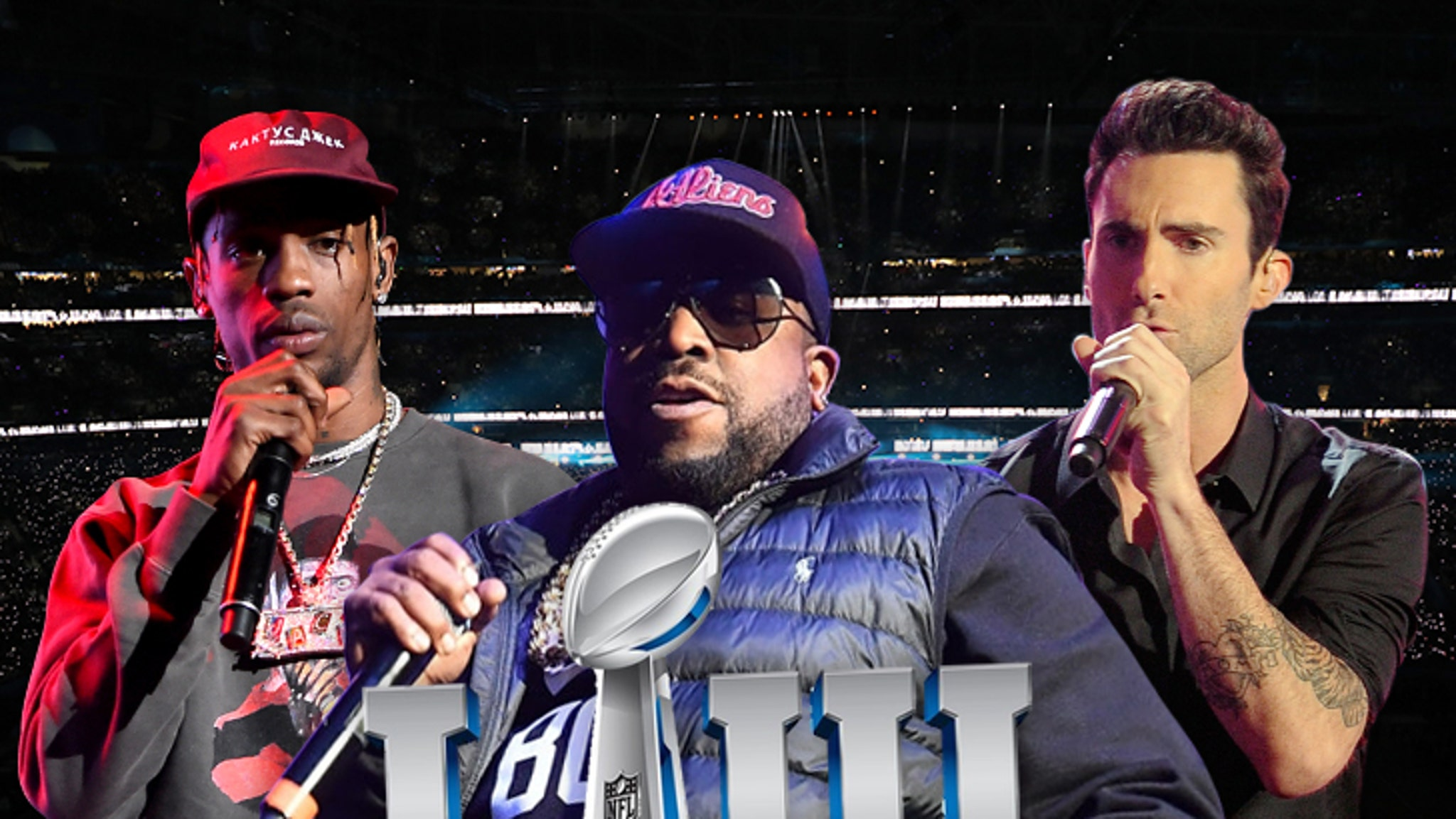 Super Bowl LIII Maroon 5 Confirms ... Trav & Big Boi in for Halftime Show