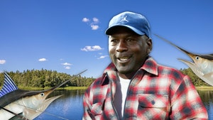 Michael Jordan Competing in Huge Fishing Tournament on 'Catch 23' Yacht