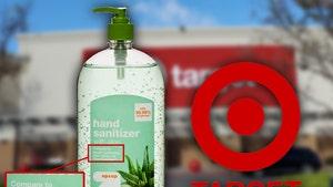 Target Sued, Man Claims Hand Sanitizer Won't Kill Coronavirus