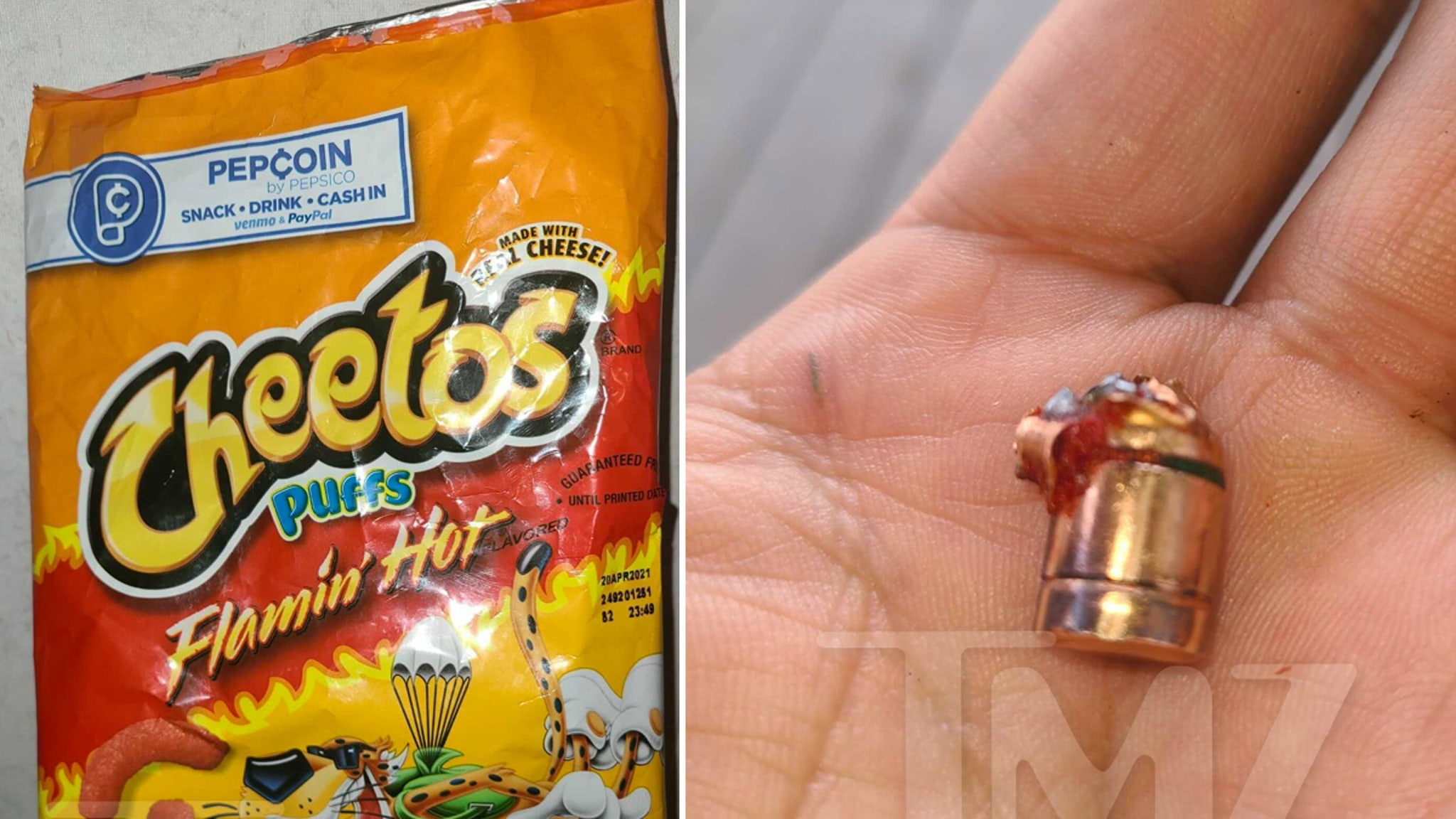 6-Year-old Boy Allegedly Finds Bullet in Hot Cheetos Bag thumbnail