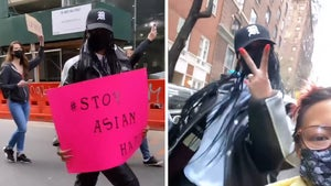 Rihanna Attends #StopAsianHate March  in New York City