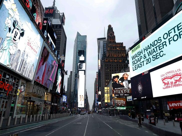 NYC Streets Empty After Coronavirus