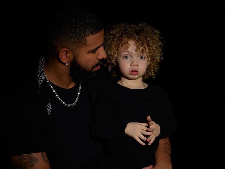 Drake And His Son Adonis