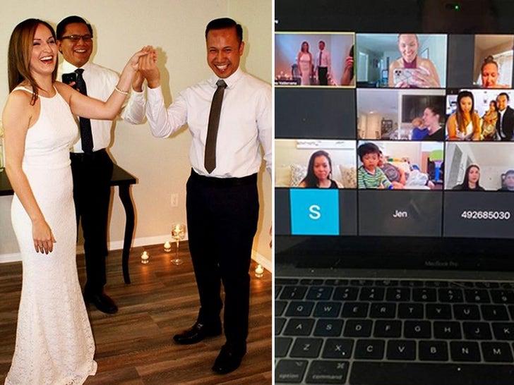 L.A. Couple Say 'I Do' in Zoom Wedding Amid Coronavirus Lockdown