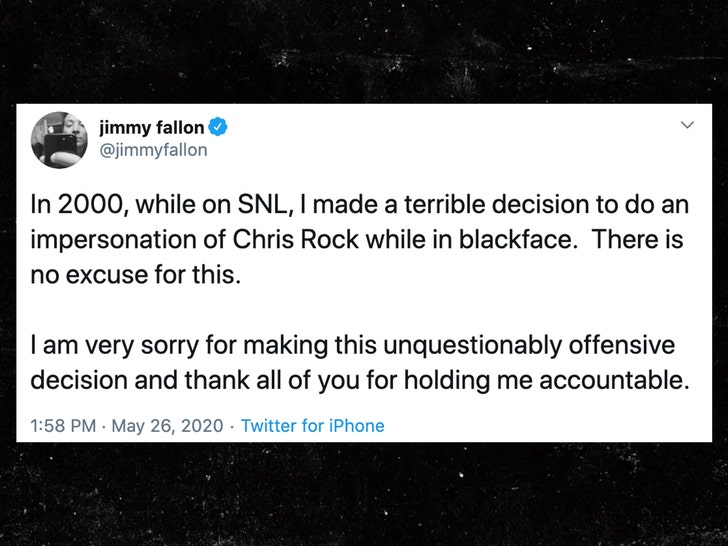 Jimmy Fallon Apologizes for Blackface Sketch on 'SNL' in 2000 - EpicNews