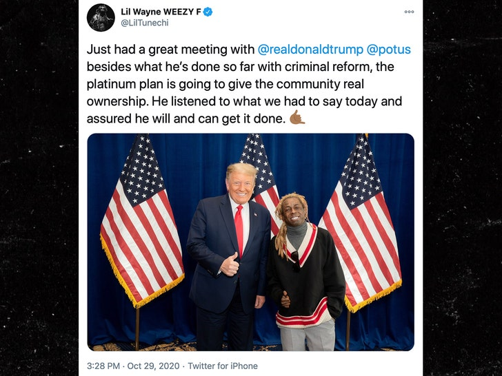 Lil Wayne Endorses President Trump Gets Ripped By 50 Cent