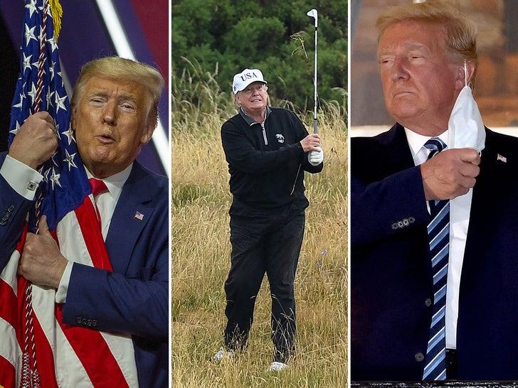 Trump's Presidential Pics