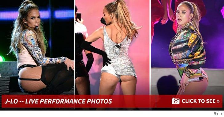 Jennifer Lopez Performance Photos