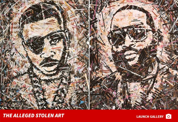 Rick Ross -- The Alleged Stolen Paintings