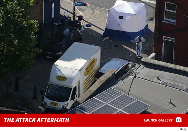 London Attack -- Vehicle Hits Pedestrians Near Notorious Muslim Mosque