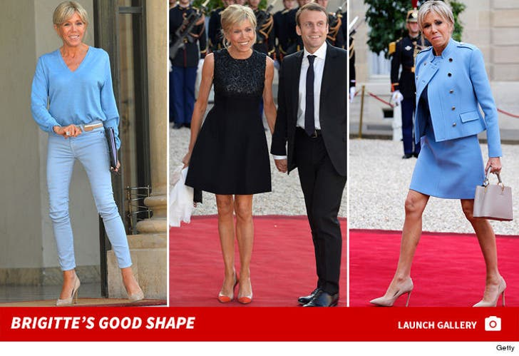 Brigitte Macron's Good Shape