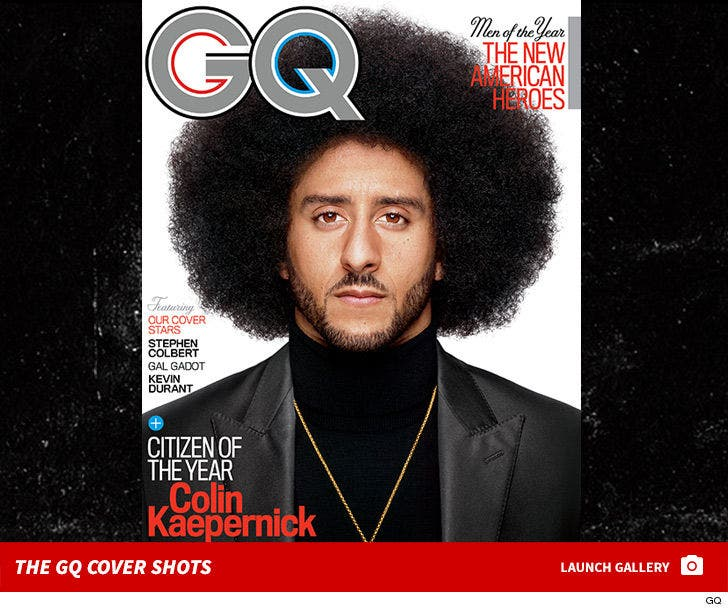 GQ 'Men of the Year' Covers