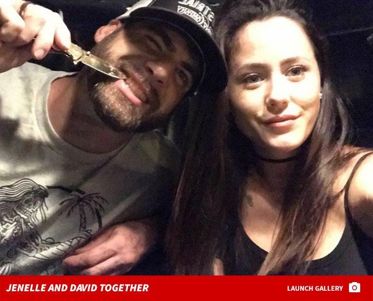 Jenelle Evans and David Eason Together