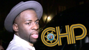 Draymond Green -- CHP Not Investigating 118 mph Video ... Here's Why