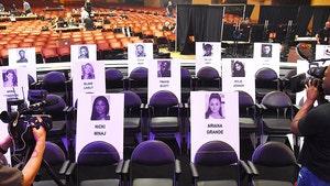 Kylie Jenner & Travis Scott Seated Directly Behind Nicki Minaj at VMAs