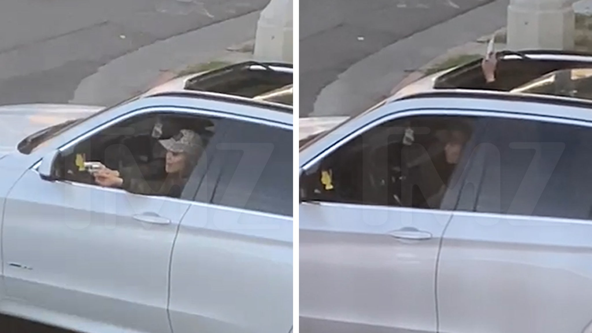 Woman Shoots Her Way Into Traffic…Literally  [VIDEO]