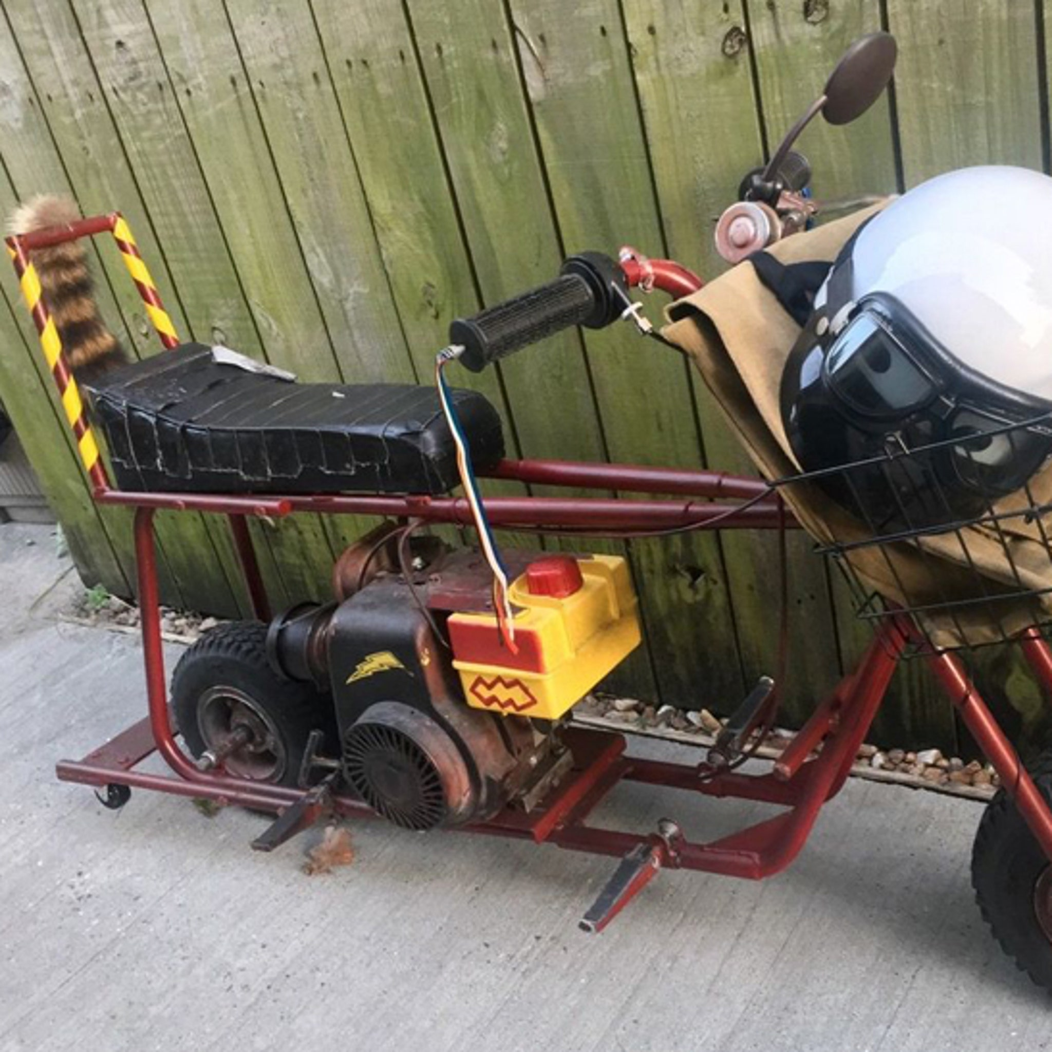 Dumb and Dumber' Mini Bike for Sale on eBay
