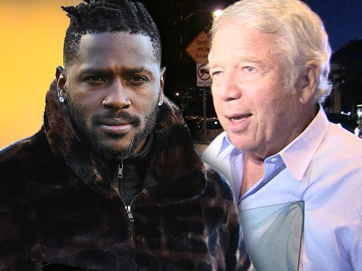 Antonio Brown apologizes to Robert Kraft, Patriots organization in Instagram post