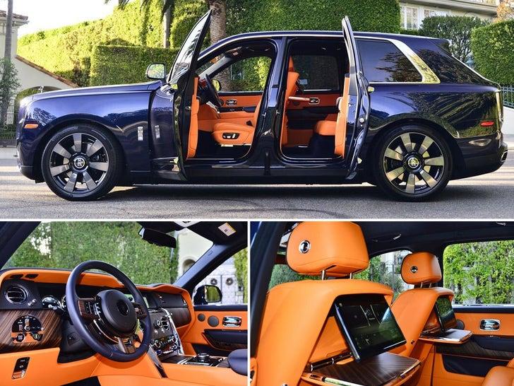Playboi Carti and Iggy Azalia's New Family Car