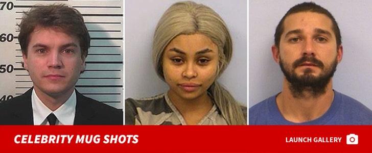 Celebrity Mug Shots