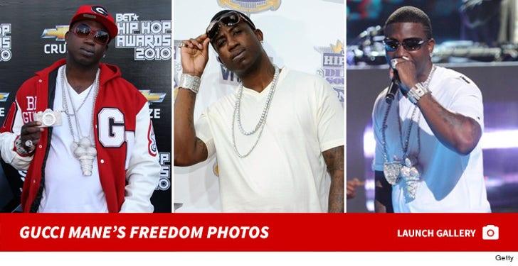 Gucci Mane's Freedom Photos
