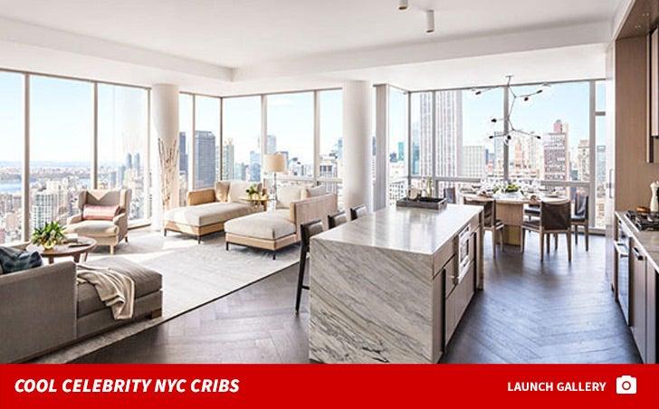 Celebrity New York Cribs