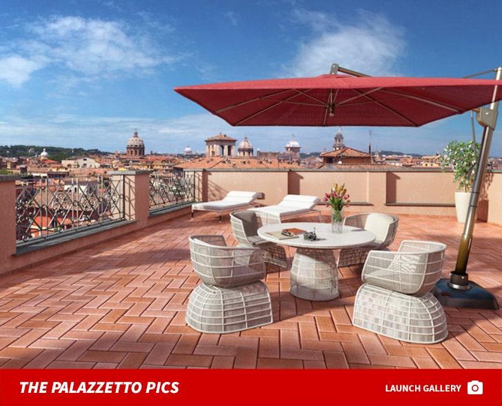 Rick Hilton's Rome Palazzetto Mansion Auction