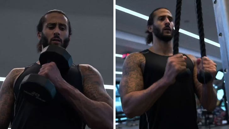 Colin Kaepernick Posts Workout Video Saying He's Working Towards NFL Return