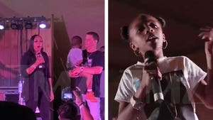 DMX's Daughter Sonovah Performs at His Texas Tribute Show