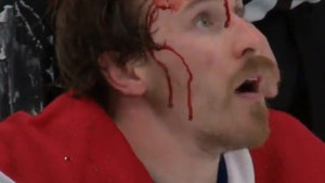 NHL's Brendan Gallagher Left A Bloody Mess After Fight In Stanley Cup Final