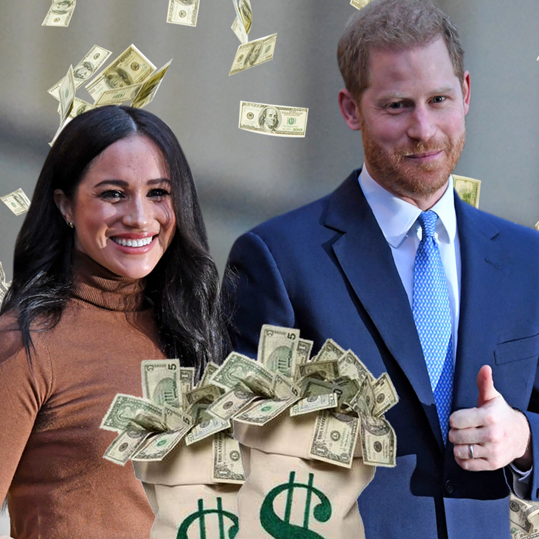Meghan Markle and Prince Harry Would Easily Fetch $500k Each To Speak