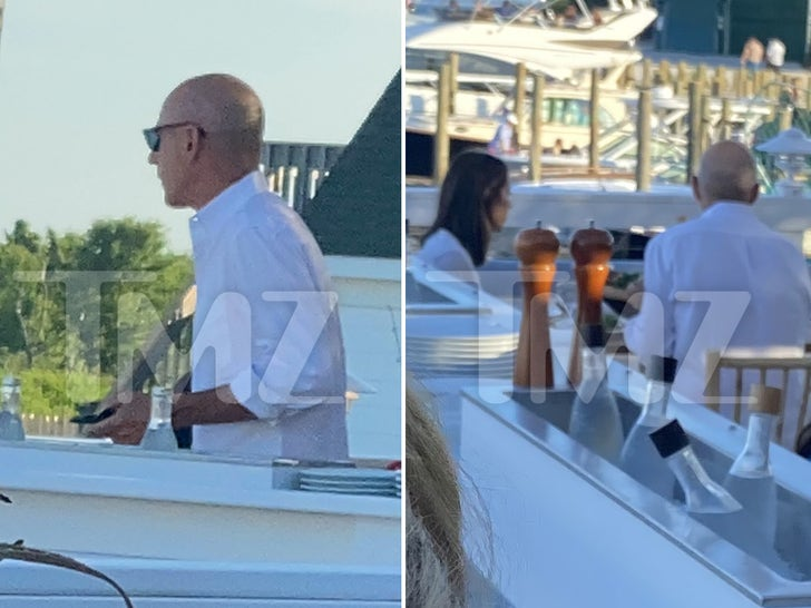 Matt Lauer Dining With Mystery Woman
