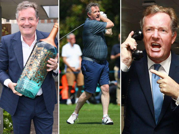Piers Morgan Through The Years
